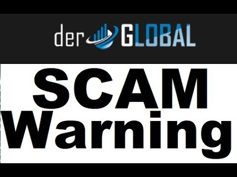 Der Global Review - PONZI SCAM Exposed (Alert)