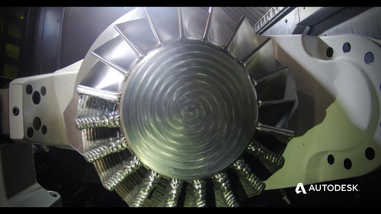 Hybrid Manufacturing Inconel Impeller With Mazak and Seco
