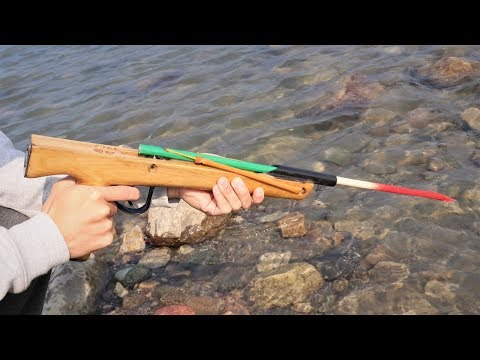 How To Make A Simple Fishing Spear Gun At Home , | DIY |