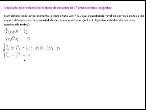 Equação de 1ºgrau com duas incógnitas?   Yahoo Answers
