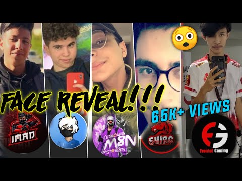 WORLD'S FASTEST FREEFIRE PLAYER FACE REVEAL 😲😲!!! IMAD GAN , FRONTAL,ALI, BNL ,SHIRO,M8N
