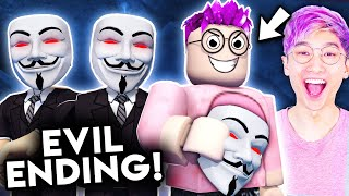 Can You Get The SECRET EVIL ENDING In This ROBLOX GAME!? (BREAK IN)
