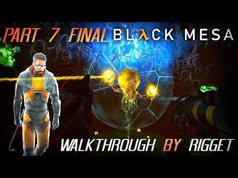 """Black Mesa мир XEN Прохождение Часть 7 """"Нихилант"""" (Обе концовки) Финал!"""