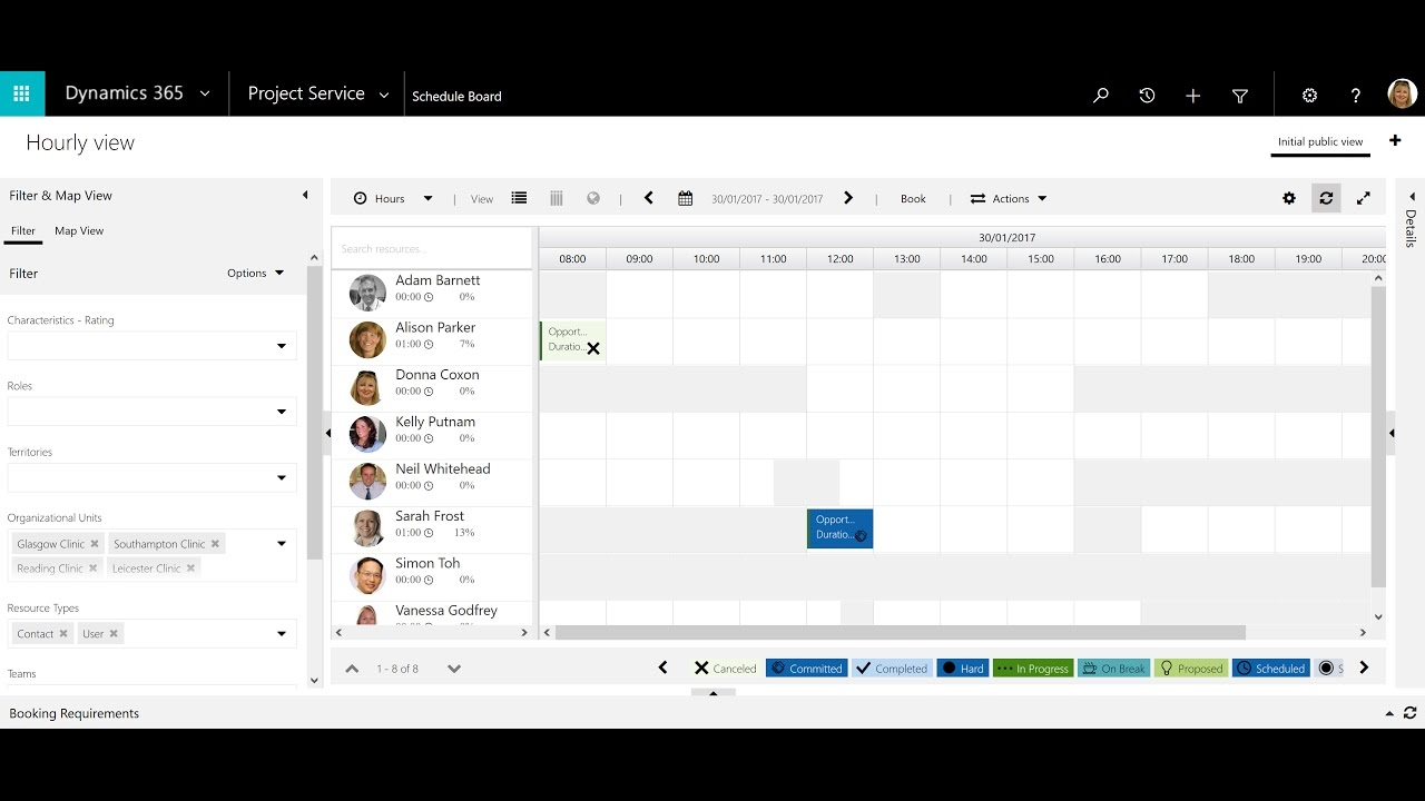 schedule anything with microsoft dynamics 365 youtube