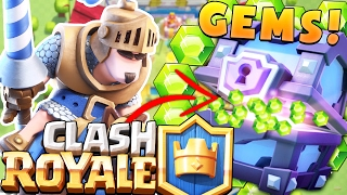 MY FIRST LEGENDARY CARD - CLASH ROYALE MOBILE APP (IOS/Android)