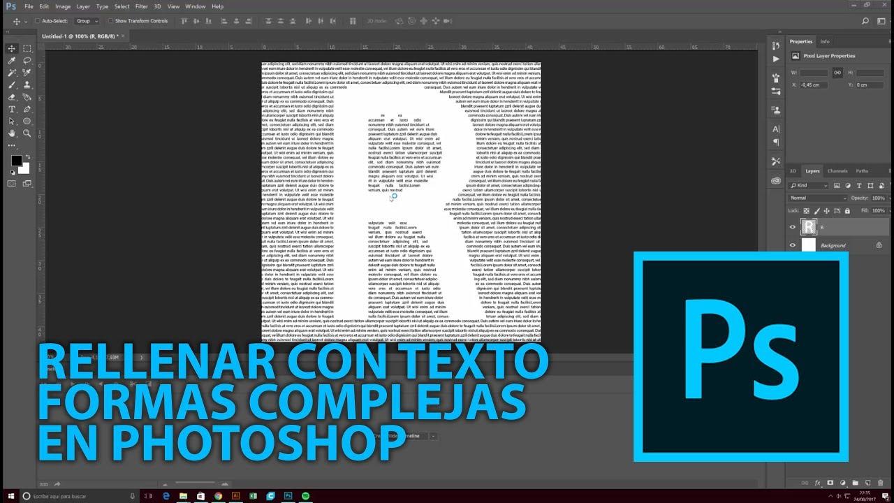 Quitar el rasterizar texto a una capa. - Foros del Web