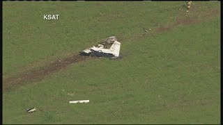 Raw Video: Air Force Trainer Plane From JBSA-Randolph Crashed Near Rolling Oaks Mall In San Antonio