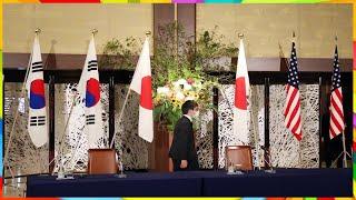 교도통신 한국 '남북 통신선 복원' 발표전에 미·일에 …