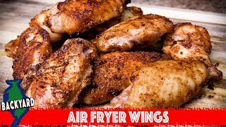 How to Make Crispy Chicken Wings in the NuWave Air Fryer