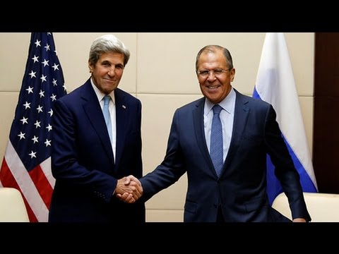 Syria talks: Lavrov & Kerry meet in Geneva