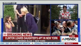 MSNBC: Hillary's Heavy Clothes Were Heavy in Hot Heat of Heavy Hotness