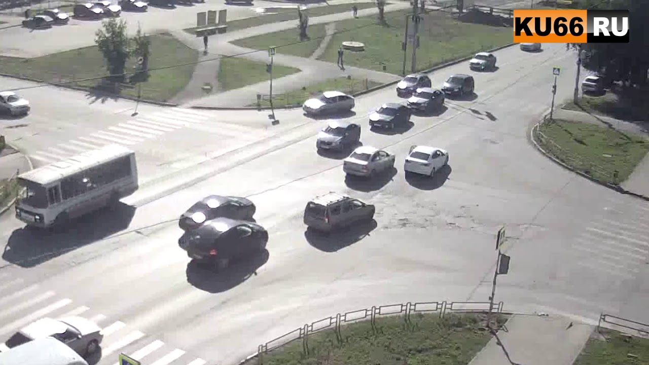 ДТП на пер.Пушкина-Победы 11.08.2017