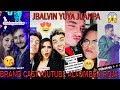 YOUTUBERS EN LA ALFOMBRA ROJA | JBALVIN YUYA JUANPA RIX RAYITO Y JUCA