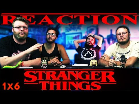 "Stranger Things ""Chapter Six: The Monster"" REACTION!!"