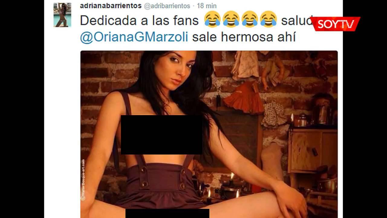 Adriana Barrientos Publicó Fotografías Eróticas De Flavia Medina En Twitter