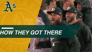 How They Got There: Oakland Athletics