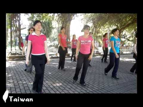 A Chinese Rumba (我悄悄地矇上你的眼睛) - Line Dance ( Kenny Teh )