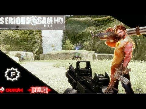 Serious Sam Fusion 2017 (beta) - Serious Sam HD: BFE (SP/COOP) - PART 2
