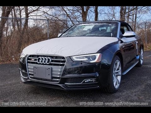 2013 Audi S5 3.0T Supercharged Convertible Vehicle Overview