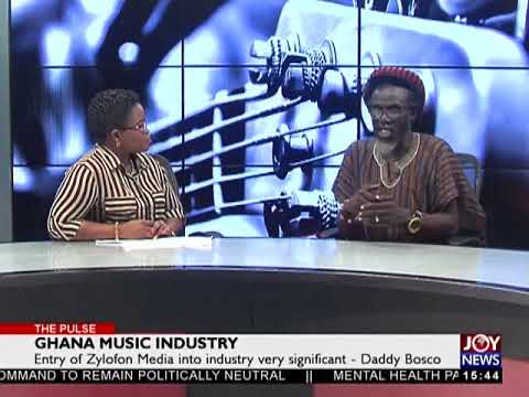 Ghana Music Industry - The Pulse on JoyNews (28-12-17)