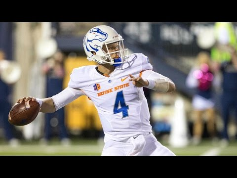 Boise State's Brett Rypien Puts Up Video Game Numbers In The First Half