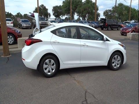 Larry Miller Hyundai Albuquerque >> 2016 Hyundai Elantra Albuquerque, Rio Rancho, Santa Fe, Clovis, Los Lunas, NM GH720275 - YouTube