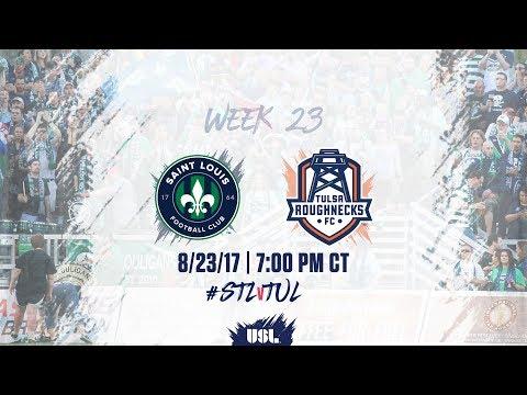 USL LIVE - Saint Louis FC vs Tulsa Roughnecks FC 8/23/17