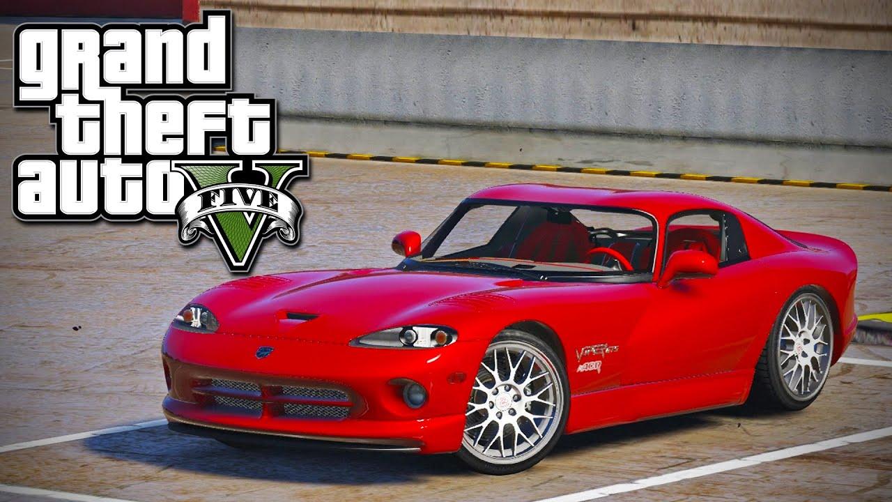Gta 5 test drive 1999 dodge viper gts acr