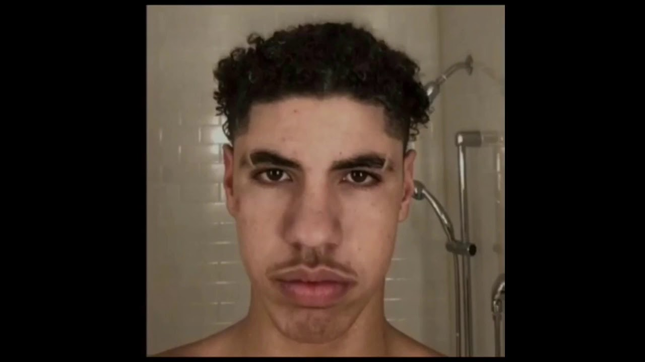 Lamelo Ball Cut His Hair Youtube