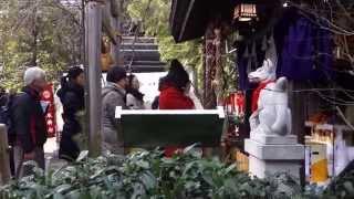 日本橋七福神めぐり2015 茶の木神社 2015.1.4 Chanoki Shrine Nihonbashi Japan