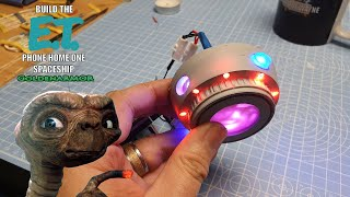 Build the E.T. Phone Home One Spaceship from GoldenArmor - Part 2 - The Lower Engine