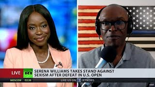 ABL Debates M. Reese Everson About Serena Williams on RT (FULL)