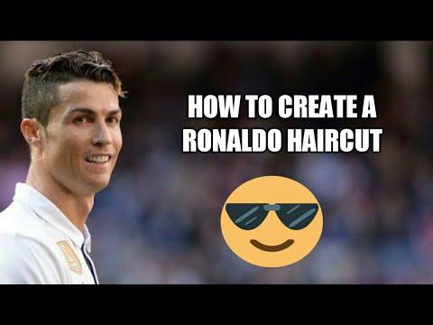 How To Make A Cristiano Ronaldo Hairstyle Youtube