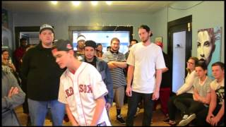 (14 year old rapper ) Josh Matter vs Mellowmatic - NEXTRapBattles - AHAT - Utah - Tryout Event