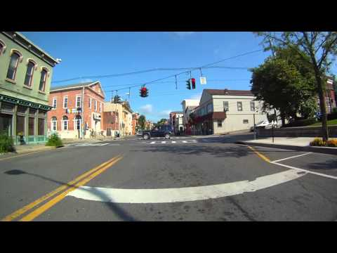 Catskill New York Downtown 12414 Virtual Video film tour
