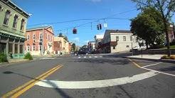 Catskill New York Downtown 12414 Virtual Video film tour