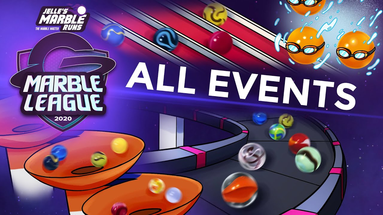 Marble Race: Marble League 2020 - ALL EVENTS