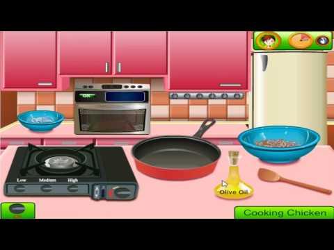 เกมส์ทําอาหาร Saras Cooking Class Homemade Pizza