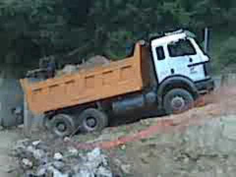 Mercedes 6x6 For Sale >> Mercedes benz 2638 dump truck - YouTube