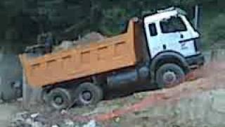 mercedes benz 2638 dump truck