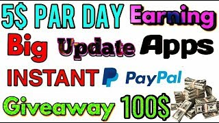 Earn Money Best Apps With PayPal Cash Free App | Instant Cash Reword Apps Paypal