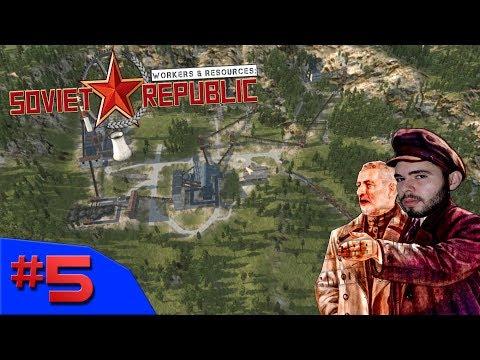 DESSA VEZ A REVOLUÇÃO TRIUNFARÁ!!! - Workers & Resources: Soviet Republic #5 - (Gameplay/PC/PTBR)HD