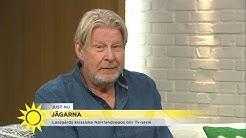 """Här överraskas Rolf Lassgård i studion: """"Nej, men gud – hej gumman!"""" - Nyhetsmorgon (TV4)"""