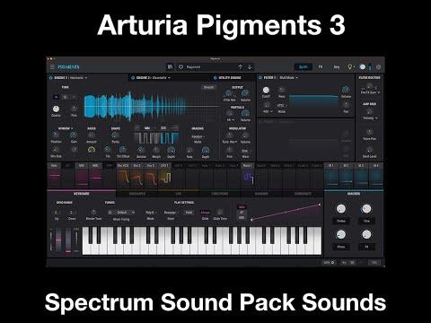 Arturia Pigments 3 Spectrum Sound Pack