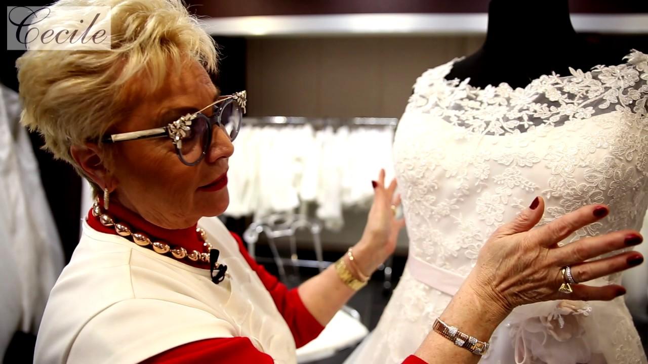 Marittas Hochzeitswelt Cecile Plus Size Shop Youtube