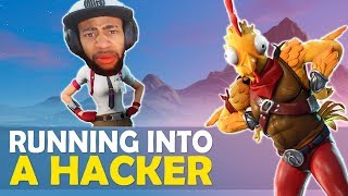 DAEQUAN RUNS INTO A HACKER...