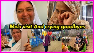 Last day with everyone 😢 | Mela | shopping | crying goodbye | ibrahim family | emotional moments