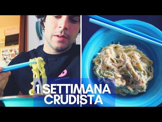 Una settimana di dieta crudista - Guglielmo Scilla