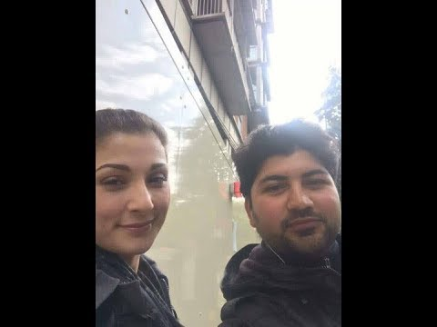 Maryam Nawaz Real Face on London Streets