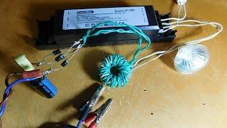 видео ИБП из электронного трансформатора - Блоки питания (импульсные) - Источники питания - [Каталог статей]